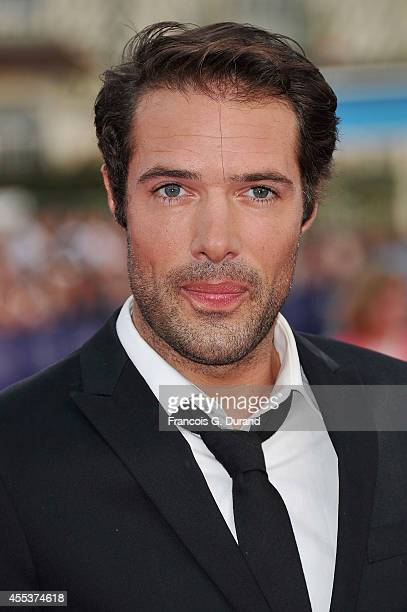 Nicolas Bedos arrives at the closing ceremony and the 'Sin City A Dame To Kill For' premiere during the 40th Deauville American Film Festival on...