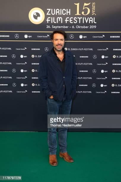 Nicolas Bedos attends the La Belle Epoque premiere during the 15th Zurich Film Festival at Kino Corso on October 03 2019 in Zurich Switzerland