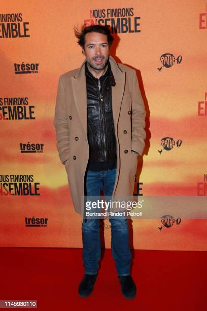 Nicolas Bedos attends the Nous finirons ensemble Premiere at Cinema Gaumont Capucines on April 29 2019 in Paris France