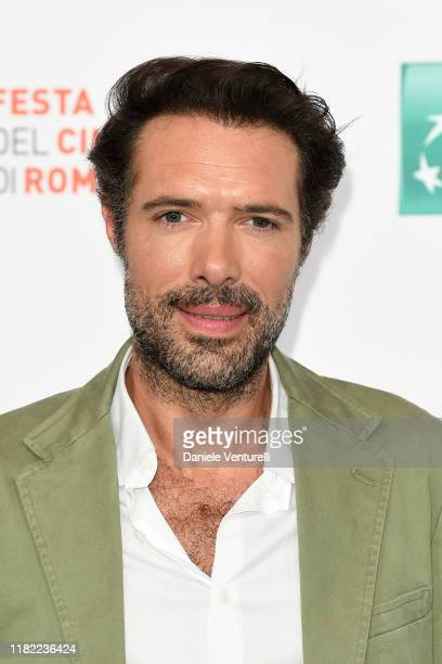Nicolas Bedos attends the photocall of the movie La belle Epoque during the 14th Rome Film Festival on October 20 2019 in Rome Italy