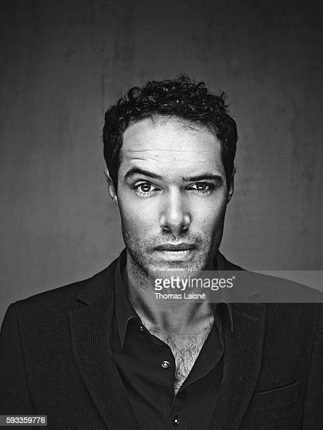 Nicolas Bedos is photographed for Self Assignment on March 10 2011 in Paris France