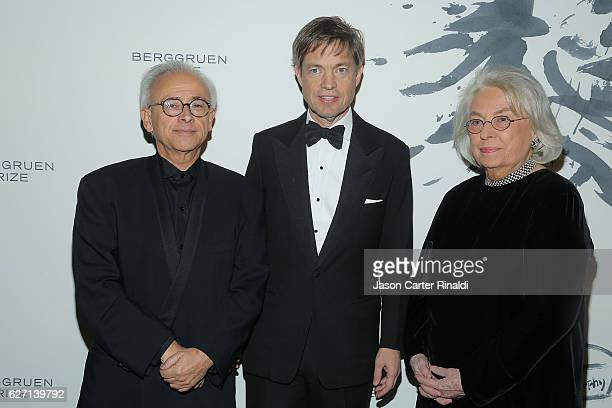 Nicolas Berggruen and guests attend The Berggruen Prize Gala Honoring Philosopher Charles Taylor at New York Public Library Astor Hall on December 1...