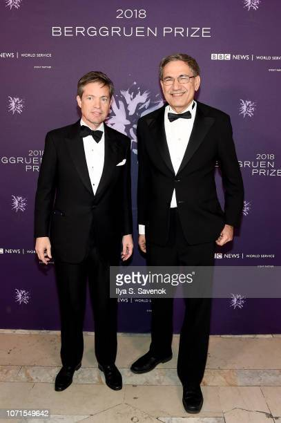 Nicolas Berggruen attend the Third Annual Berggruen Prize Gala at the New York Public Library on December 10 2018 in New York City