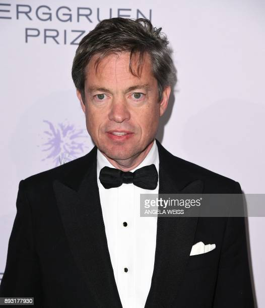 Nicolas Berggruen attends the 2017 Berggruen Prize Gala at the New York Public Library on December 14 2017 in New York / AFP PHOTO / ANGELA WEISS
