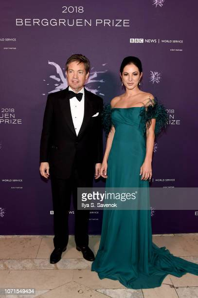 Nicolas Berggruen attends the Third Annual Berggruen Prize Gala at the New York Public Library on December 10 2018 in New York City
