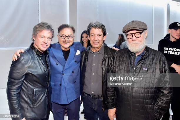 Nicolas Berggruen Michael Chow Paul Schimmel and Paul McCarthy attend Mr Chow 50 Years on February 16 2018 in Vernon California