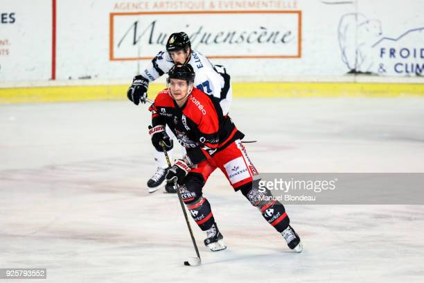 Nicolas Besch of Bordeaux during the Magnus League Playoff match between Bordeaux and Gap on February 28 2018 in Bordeaux France