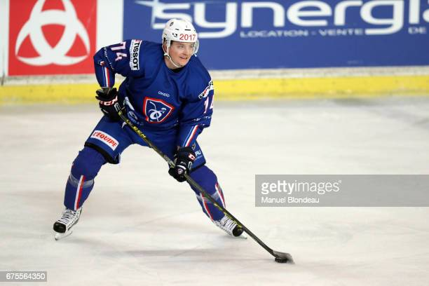 Nicolas Besch of France during the International friendly game between France and Belarus on May 1 2017 in Bordeaux France