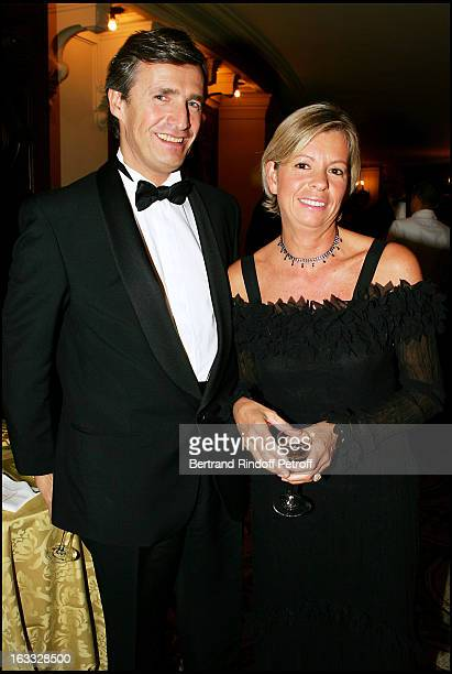 Nicolas Beytout and wife at the Cosi Fan Tutte Gala Performance At The L' Opera Garnier In Paris
