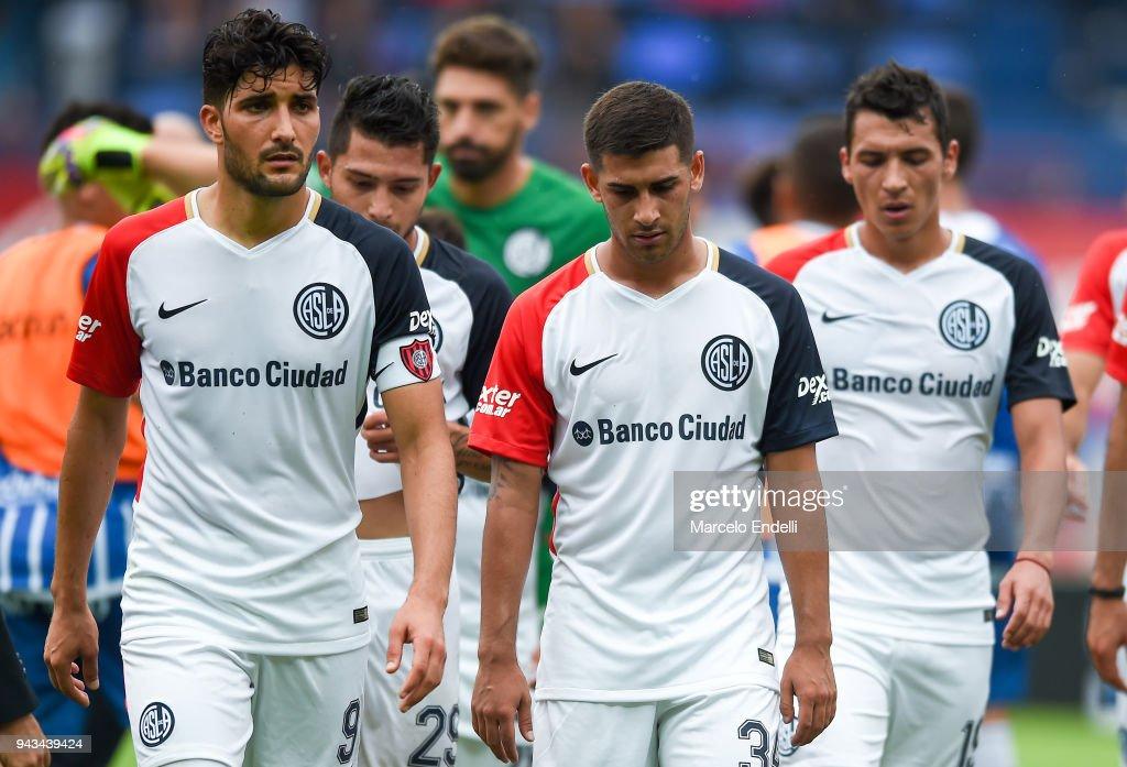 San Lorenzo v Godoy Cruz - Superliga 2017/18