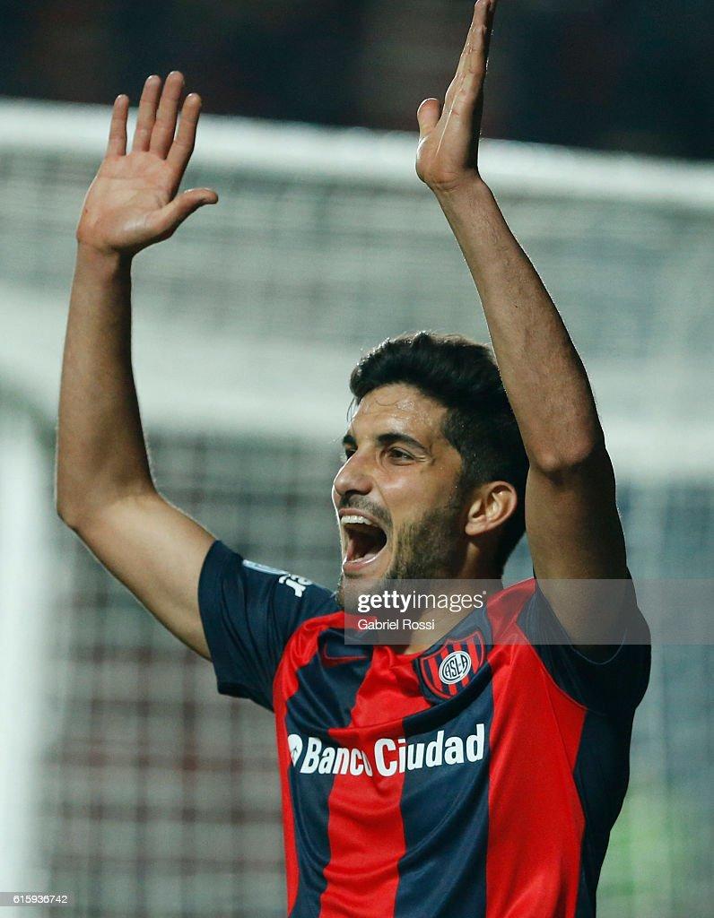 San Lorenzo v Palestino - Copa Sudamericana 2016