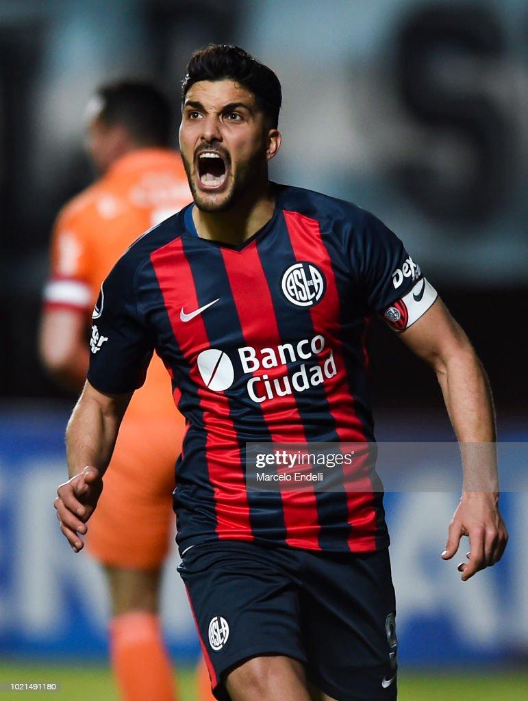 San Lorenzo v Nacional - Copa CONMEBOL Sudamericana 2018 : News Photo