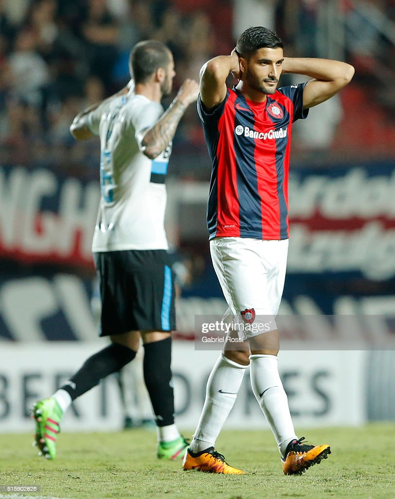 San Lorenzo v Gremio - Copa Bridgestone Libertadores 2016
