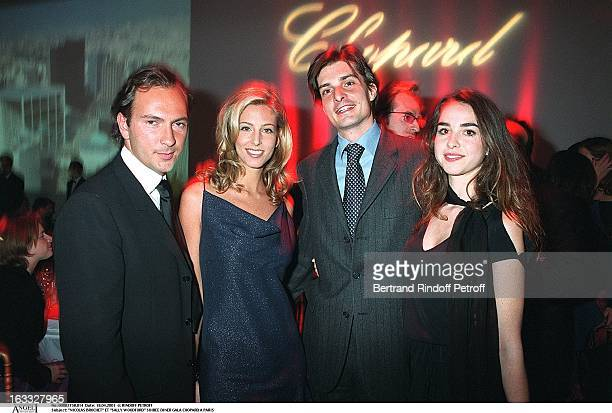 Nicolas Brochet and Sally Woodford at theChopard Gala Dinner In Paris