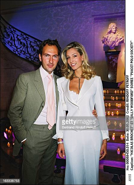 Nicolas Brochet and Sally Woodford Piaget Polo Society Party
