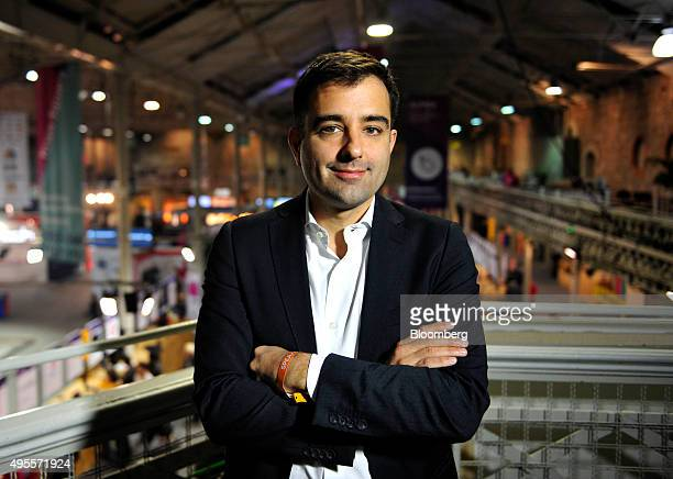 Nicolas Brusson cofounder and chief operating officer of Cumuto SA trading as BlaBlaCar poses for a photograph following a Bloomberg Television...