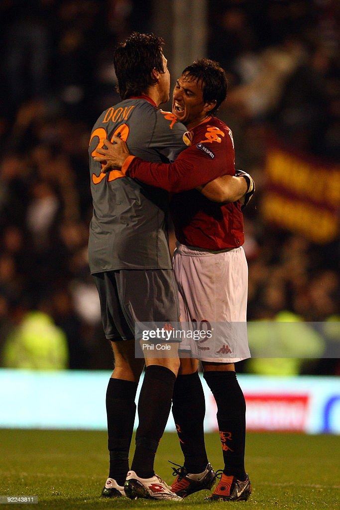 Fulham v AS Roma - UEFA Europa League