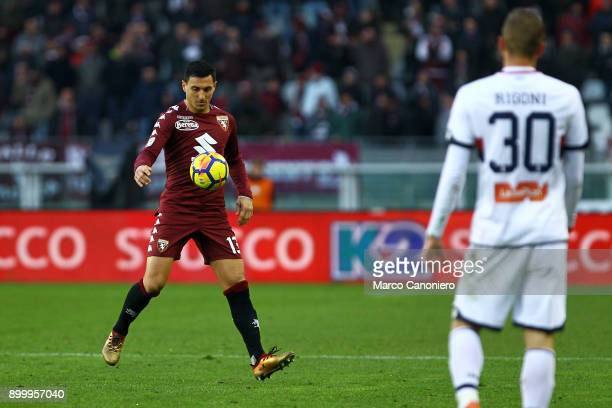 Nicolas Burdisso of Torino FC in action during the Serie A football match between Torino Fc and Genoa Cfc.