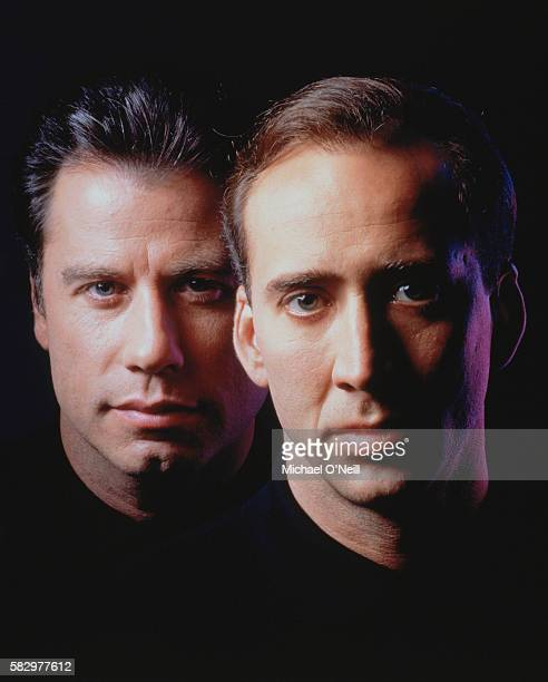 Nicolas Cage and John Travolta