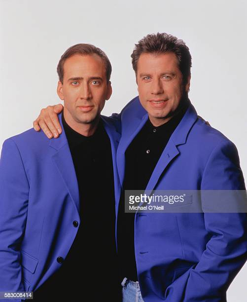 Nicolas Cage and John Travolta