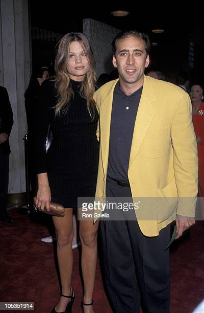 Nicolas Cage and Kristen Zang during Much Ado About Nothing Los Angeles Premiere at Mann National Theater in Westwood California United States