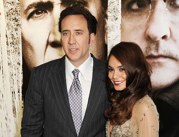 The frozen ground uk premiere inside arrivals nicolas cage l and vanessa hudgens attend the uk premiere of the frozen voltagebd Images