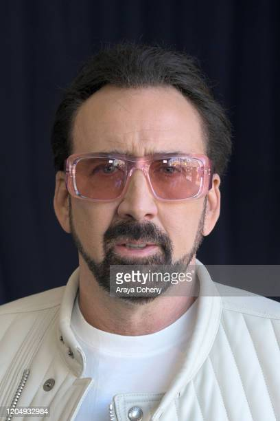 Nicolas Cage at the 2020 Film Independent Spirit Awards on February 08, 2020 in Santa Monica, California.