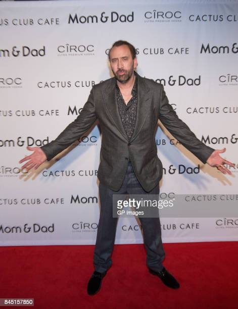 Nicolas Cage attends Mom and Dad TIFF Premiere Party Hosted By Cactus Club Cafe And Ciroc At First Canadian Place at Cactus Club Cafe on September 9...