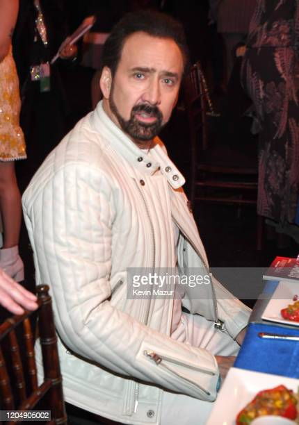 Nicolas Cage attends the 2020 Film Independent Spirit Awards on February 08, 2020 in Santa Monica, California.