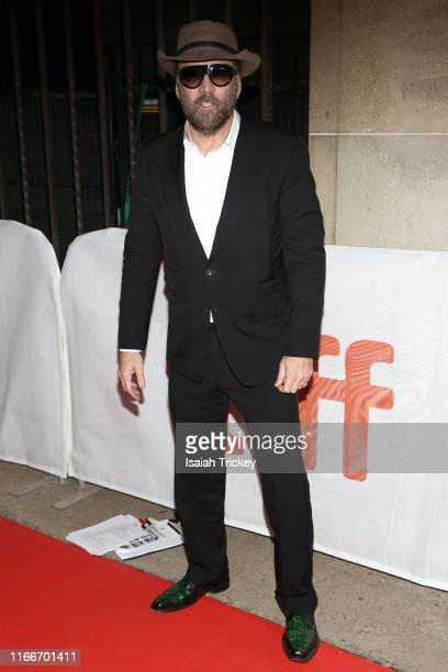 Nicolas Cage attends the Color Out Of Space premiere during the 2019 Toronto International Film Festival at Ryerson Theatre on September 07 2019 in...