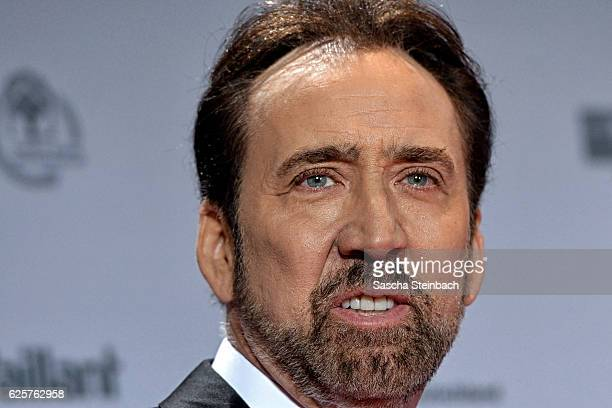 Nicolas Cage attends the German Sustainability Award 2016 at Maritim Hotel on November 25 2016 in Duesseldorf Germany