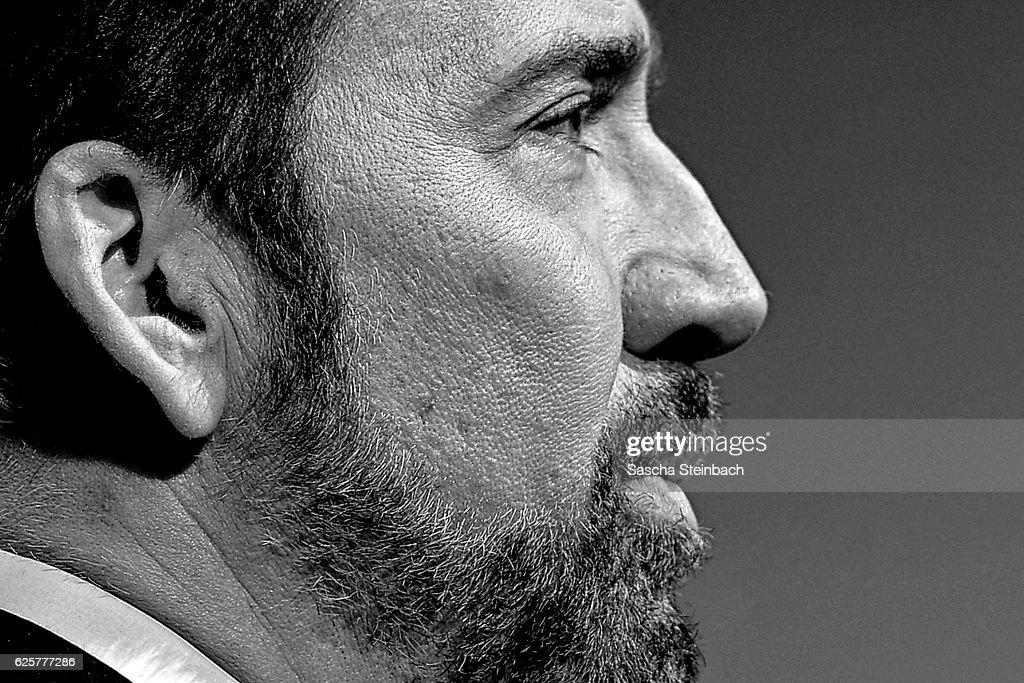 Nicolas Cage attends the German Sustainability Award 2016 (Deutscher Nachhaltigkeitspreis) at Maritim Hotel on November 25, 2016 in Duesseldorf, Germany.