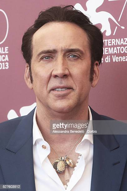 Nicolas Cage attends the photocall of movie Joe presented in competition during the 70th international Venice Film Festival