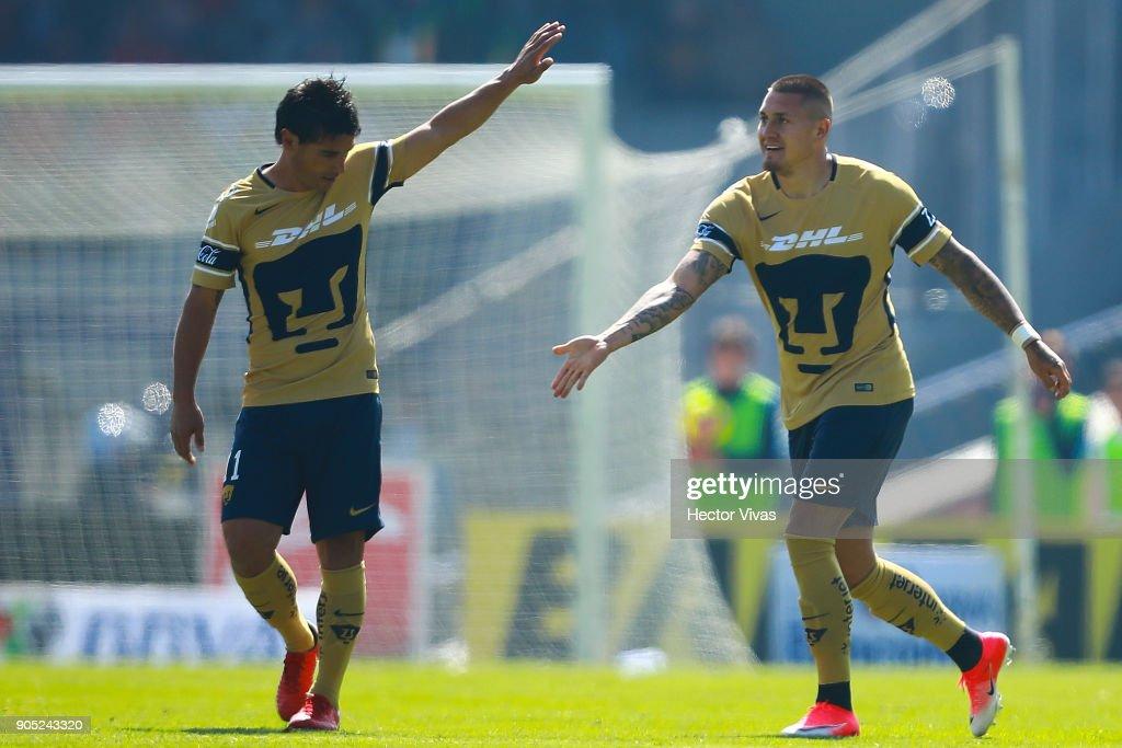 Pumas UNAM v Atlas - Torneo Clausura 2018 Liga MX : News Photo