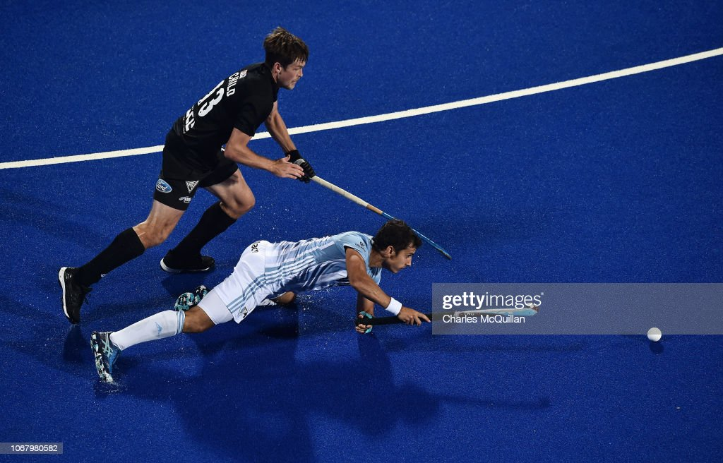 New Zealand v Argentina - FIH Men's Hockey World Cup : News Photo