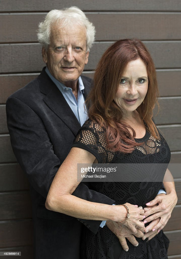 Nicolas Coster and Jacklyn Zeman at 'The Bay The Series' New Intro Promotional Shoot on October 15, 2015 in Los Angeles, California.