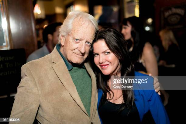 Nicolas Coster and Kira Reed Lorsch attend The Bay's PreEmmy Red Carpet Celebration at 33 Taps Hollywood on April 26 2018 in Los Angeles California