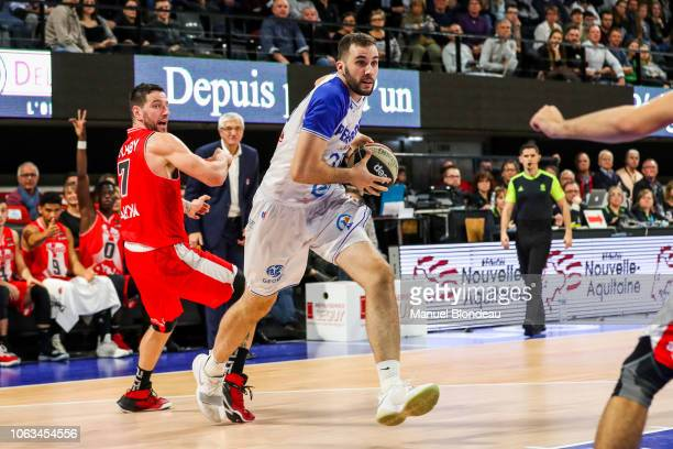 Nicolas De Jong of Boulazac during the Jeep Elite match between Boulazac Basket Dordogne v JL Bourg en Bresse on November 17 2018 in Boulazac France