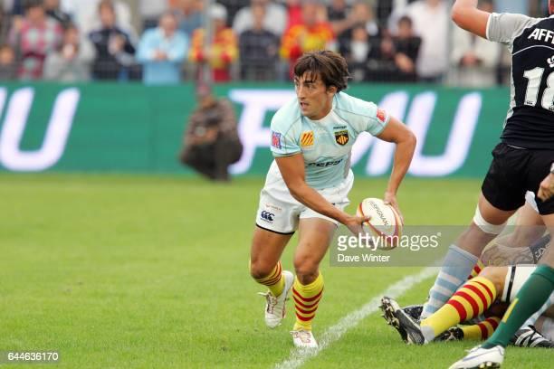Nicolas DURAND Perpignan / Bayonne Top 14 4e journee Photo Dave Winter / Icon Sport