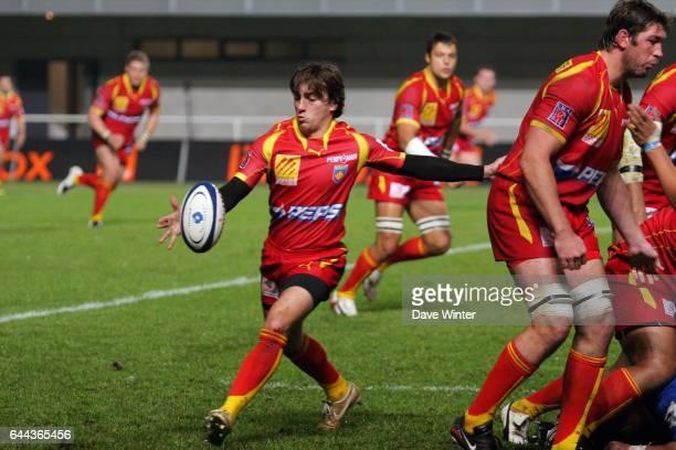 Nicolas DURAND Montpellier / Perpignan 1eme journee du Top 14 Photo Dave Winter / Icon Sport