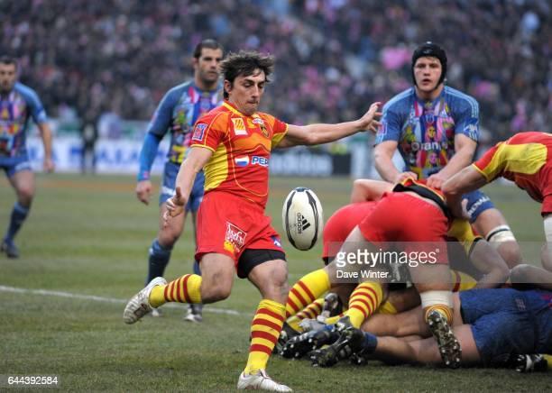 Nicolas DURAND Stade Francais / Perpignan 16e journee Top 14 Photo Dave Winter / Icon Sport