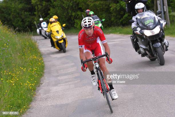Nicolas Edet of France and Team Cofidis / during the 70th Criterium du Dauphine 2018 Stage 4 a 181km stage from ChazeysurAin to LansenVercors 1409m...