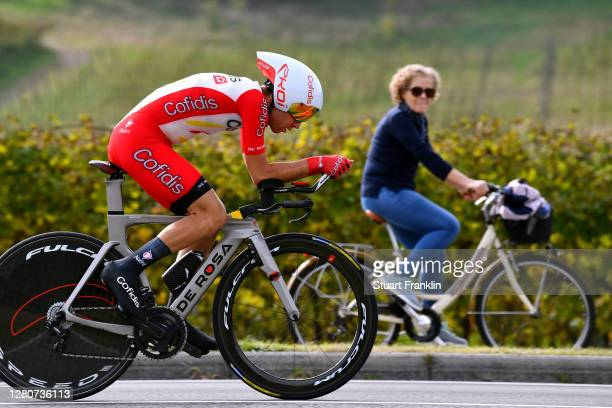 Nicolas Edet of France and Team Cofidis Solutions Credits / Public / Fans / Bike / during the 103rd Giro d'Italia 2020, Stage 14 a 34,1km individual...