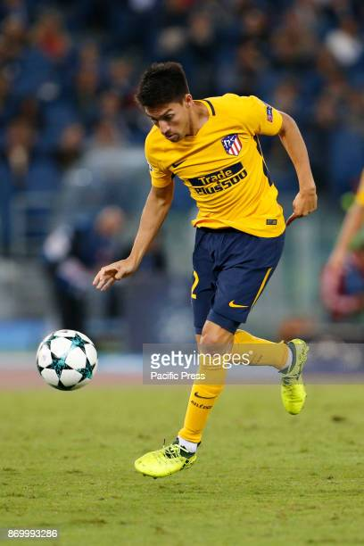 Nicolas Gaitan of Atletico Madrid during the UEFA Champions League Group C soccer match against Roma in Rome The match ended in a 00 draw