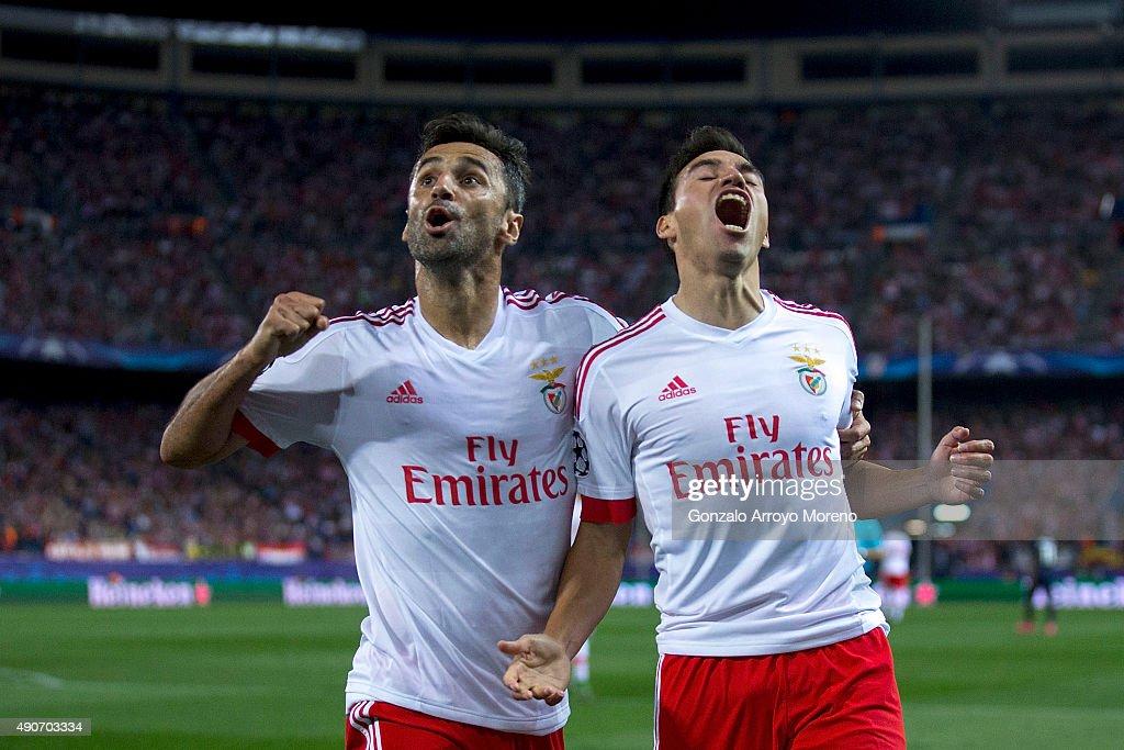 Club Atletico de Madrid v SL Benfica - UEFA Champions League : News Photo