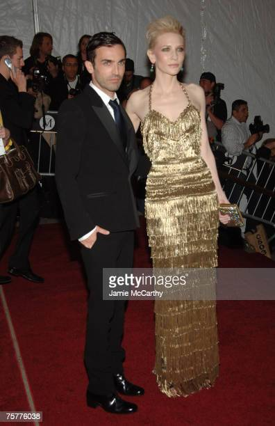 Nicolas Ghesquiere and Cate Blanchett