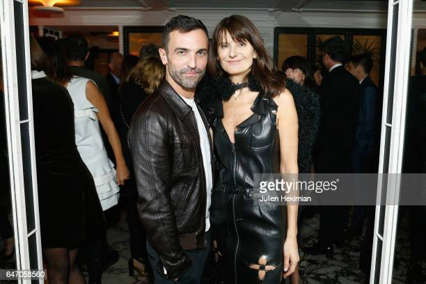 Nicolas Ghesquiere and MarieAmelie Sauve attend the Mastermind Magazine launch dinner as part of Paris Fashion Week Womenswear Fall/Winter 2017/2018...