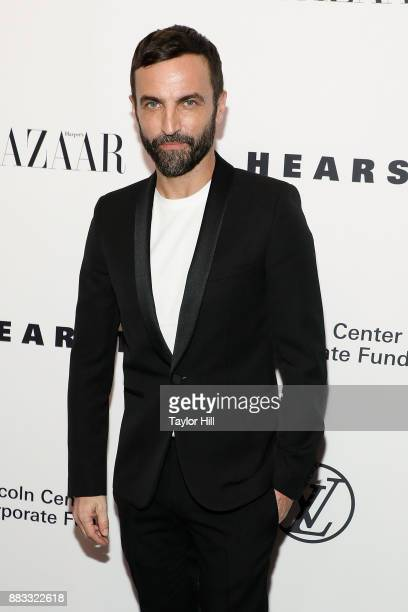 Nicolas Ghesquiere attends 'An Evening Honoring Louis Vuitton And Nicolas Ghesquiere' at Alice Tully Hall at Lincoln Center on November 30 2017 in...