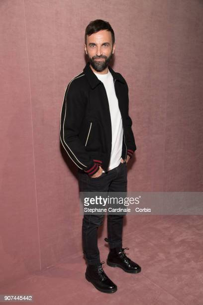 Nicolas Ghesquiere attends the Berluti Menswear Fall/Winter 20182019 show as part of Paris Fashion Wee January 19 2018 in Paris France