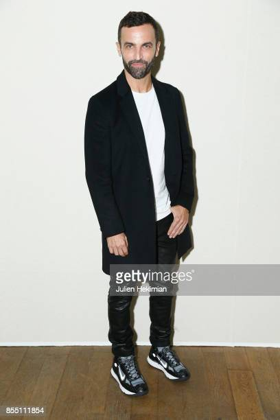 Nicolas Ghesquiere attends the Paco Rabanne show as part of the Spring Summer 2018 Womenswear Show at Grand Palais on September 28 2017 in Paris...